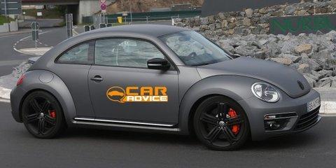 Volkswagen Beetle R: new-age superbug spied