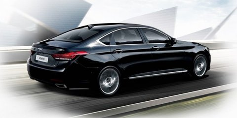 Hyundai Genesis sedan: official images of Korea's E-Class rival