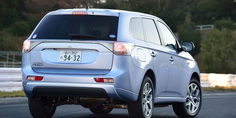 Mitsubishi Outlander PHEV to increase SUV's environmental appeal