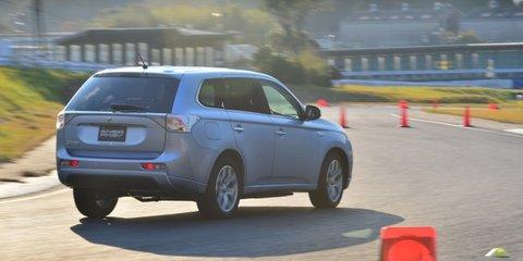 Mitsubishi Outlander PHEV here in April