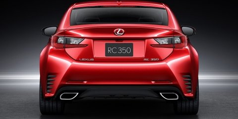 Lexus RC confirmed for Australia late 2014, convertible and V8 to follow