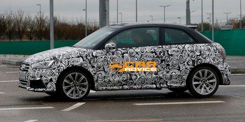 Audi S1: performance super-mini spied