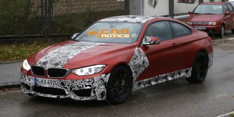 BMW M4 Coupe spied up close in Germany