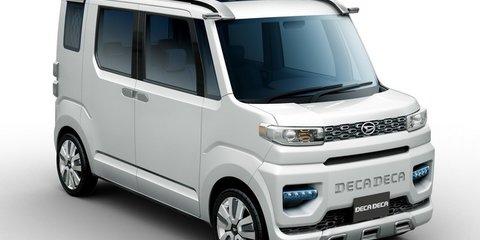 Daihatsu FC Deco Deck, Deca Deca: Tokyo-bound 'kei cars' revealed