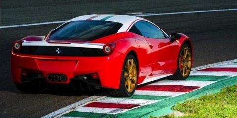 Ferrari 458: Niki Lauda special revealed