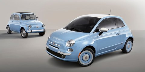 Fiat 500 1957 Edition: vintage-styled city car revealed