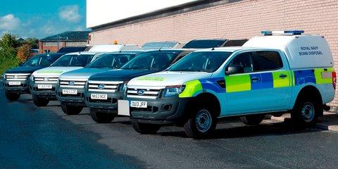 Ford Ranger: Australian-developed ute joins UK military fleet
