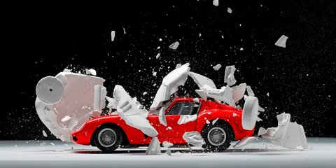 Photographer captures 'exploding, hatching' cars