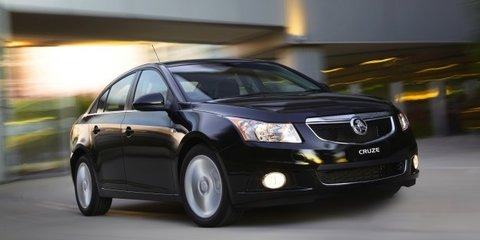 Holden Commodore repasses Cruze as company's best-seller
