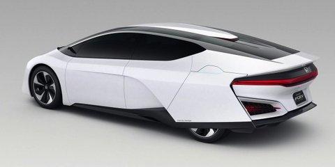 Honda FCEV: fuel-cell concept claims 482km-plus range