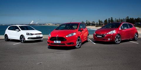 Hot hatch comparison: Ford Fiesta ST v Peugeot 208 GTi v Volkswagen Polo GTI