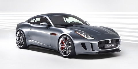 Jaguar F-Type coupe: first official image