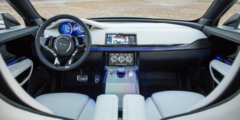 Jaguar C-X17 concept: new 46-image gallery released