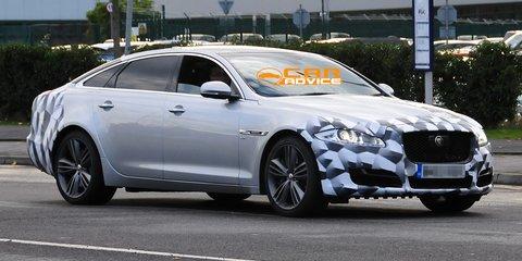 Jaguar XJ: facelifted luxury flagship spied