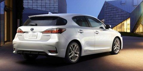 Lexus CT200h facelift revealed