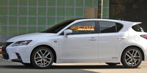 2014 Lexus CT200h F Sport: hybrid hatch spied camouflage free