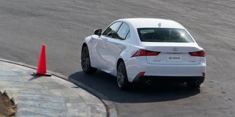 Lexus IS: four-wheel-steer F Sport ready for Oz