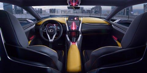 Lexus LF-NX Turbo debuts 2.0-litre twin-scroll petrol engine