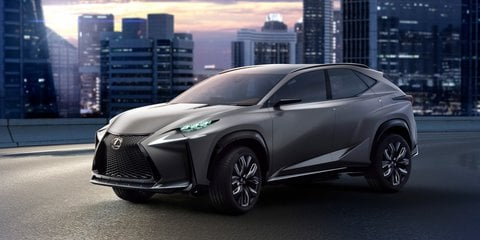 Lexus LF-NX Turbo debuts 2.0-litre twin-scroll petrol engine