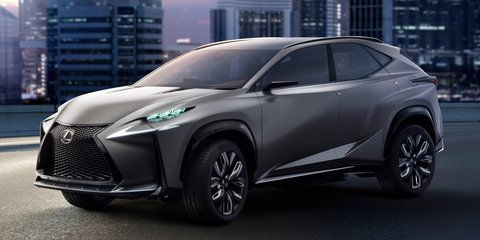 Lexus LF-NX to debut company's new 2.0-litre turbo engine