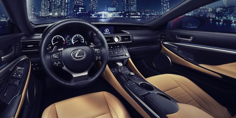 Lexus RC coupe: full gallery released