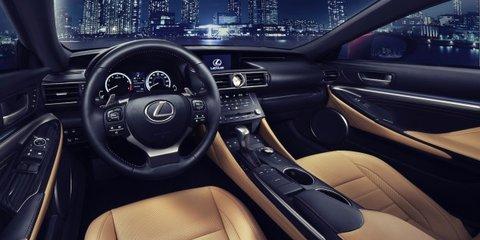 Lexus RC coupe revealed