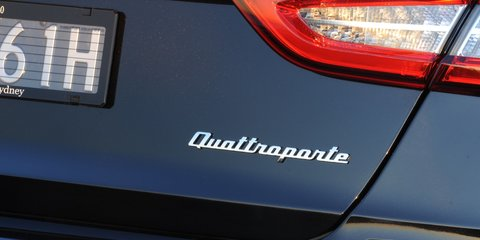 Maserati Quattroporte: $319,800 flagship GTS here in January