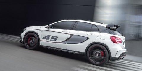 Mercedes-Benz GLA45 AMG: sub-5.0sec 0-100km/h concept unveiled