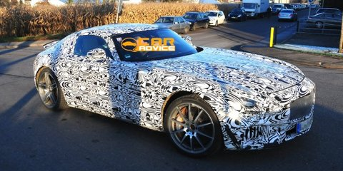 Mercedes-Benz SLC: spy shots reveal Porsche-like rear
