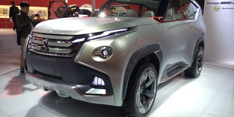 Mitsubishi GC-PHEV: plug-in concept previews next-gen Pajero SUV