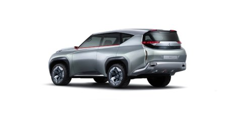 Mitsubishi Pajero previewed by supercharged plug-in concept