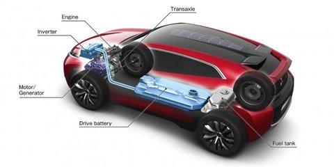 Mitsubishi XR-PHEV: plug-in concept previews next-gen ASX