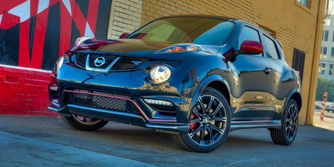 Nissan Juke Nismo RS: 160kW hardcore crossover unveiled
