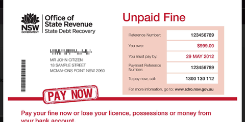NSW drivers unable to pay fines, losing licenses