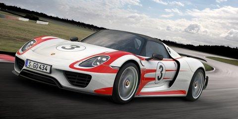 Porsche 918 Spyder: Weissach pack option claims 2.6sec 0-100km/h