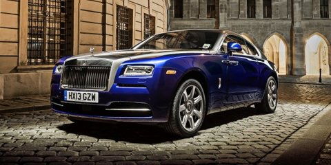 Rolls-Royce Wraith Drophead coupe confirmed for 2015