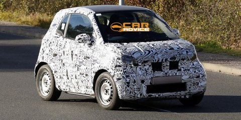 Smart Fortwo: next-gen city car spied with new body