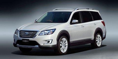 Subaru Crossover 7 concept revealed