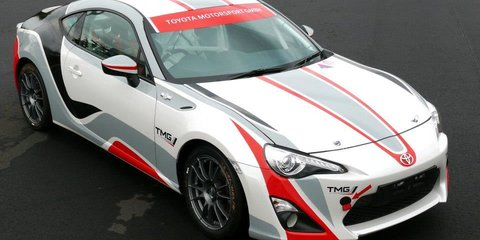 Toyota 86 R3 rally car revealed