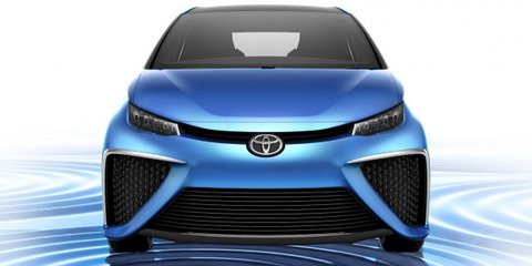 Toyota FCV: hydrogen-powered concept revealed