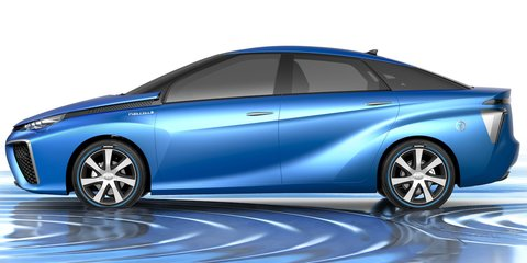 Toyota FCV: hydrogen-powered concept revealed