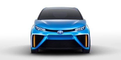 Toyota FCV concept previews $100K hydrogen-powered production car