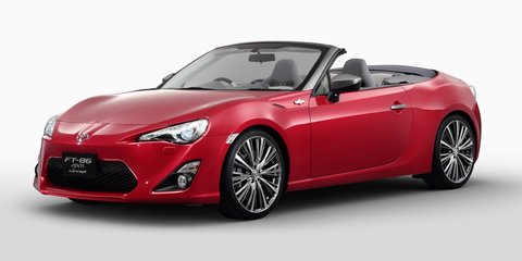 Toyota 86 Convertible on local wish list