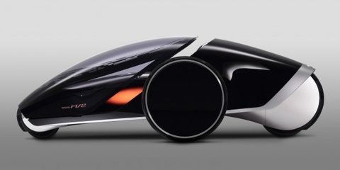 Toyota FV2: future mobility concept deepens relationship with driver