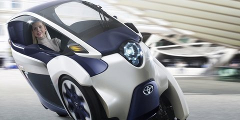 Toyota unveils future plans in Smart Mobility City display