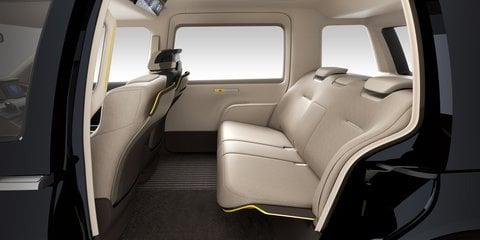 Toyota JPN Taxi concept channels the London black cab