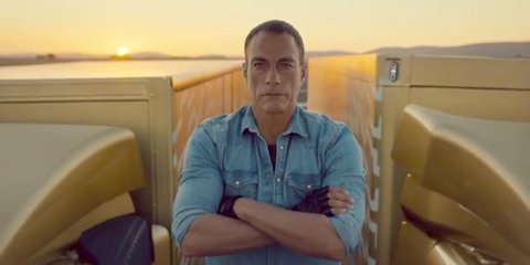 Volvo truck technology 'tested' by Jean-Claude Van Damme's epic splits