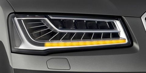 Audi Matrix LED headlights technology explained