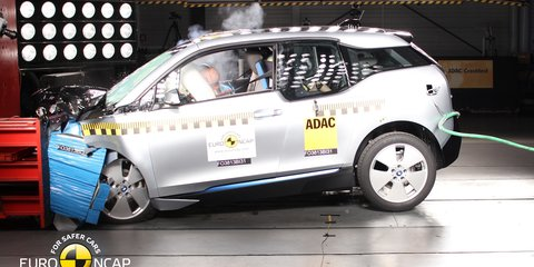 BMW i3 disappoints with four-star Euro NCAP safety rating