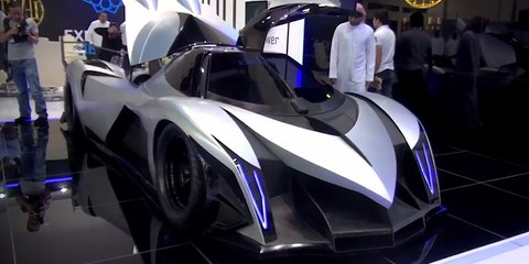 Devel Sixteen: Dubai supercar claims 3700kW, 560km/h top speed